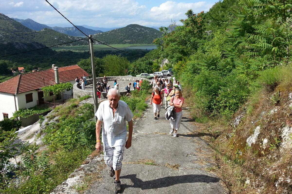 Montenegro Skadar Lake, guided group sightseeing