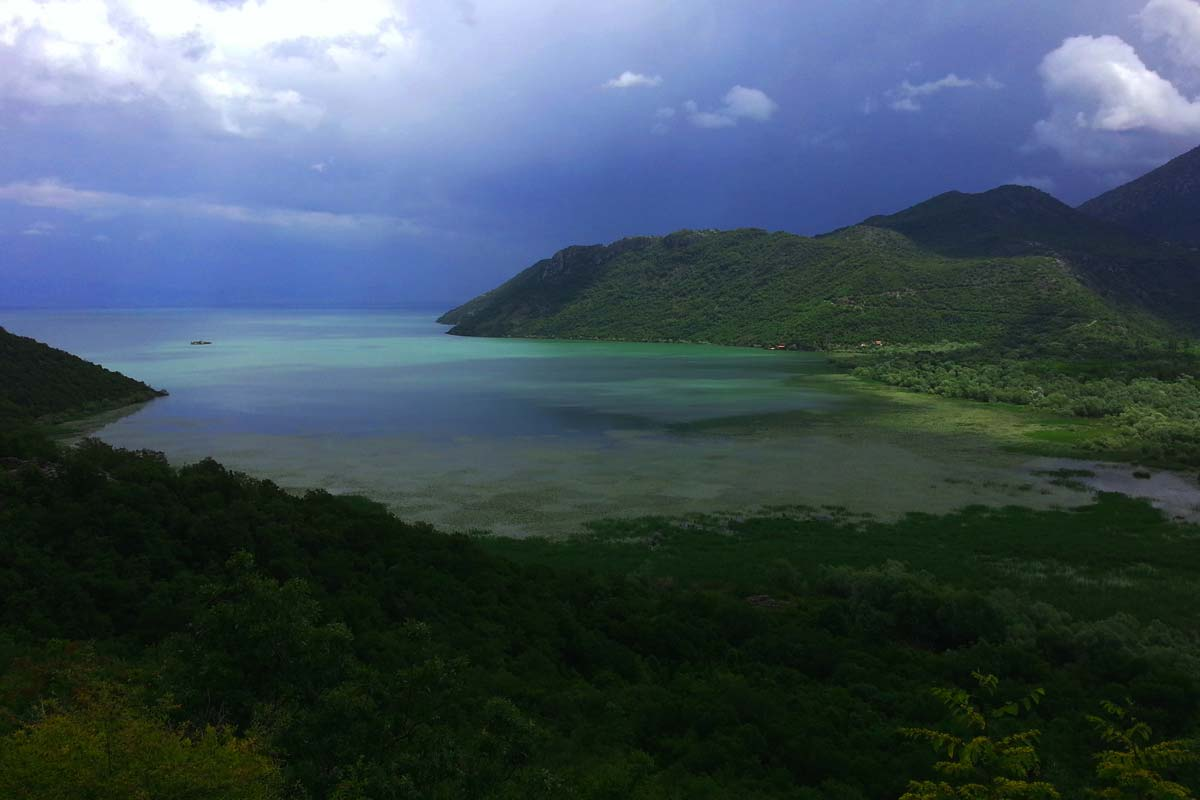 Montenegro Skadar Lake National Park, guided hiking tour view
