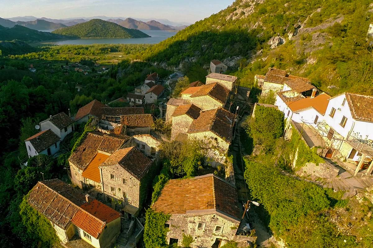 Montenegro Skadar Lake, Godinje historical village tour