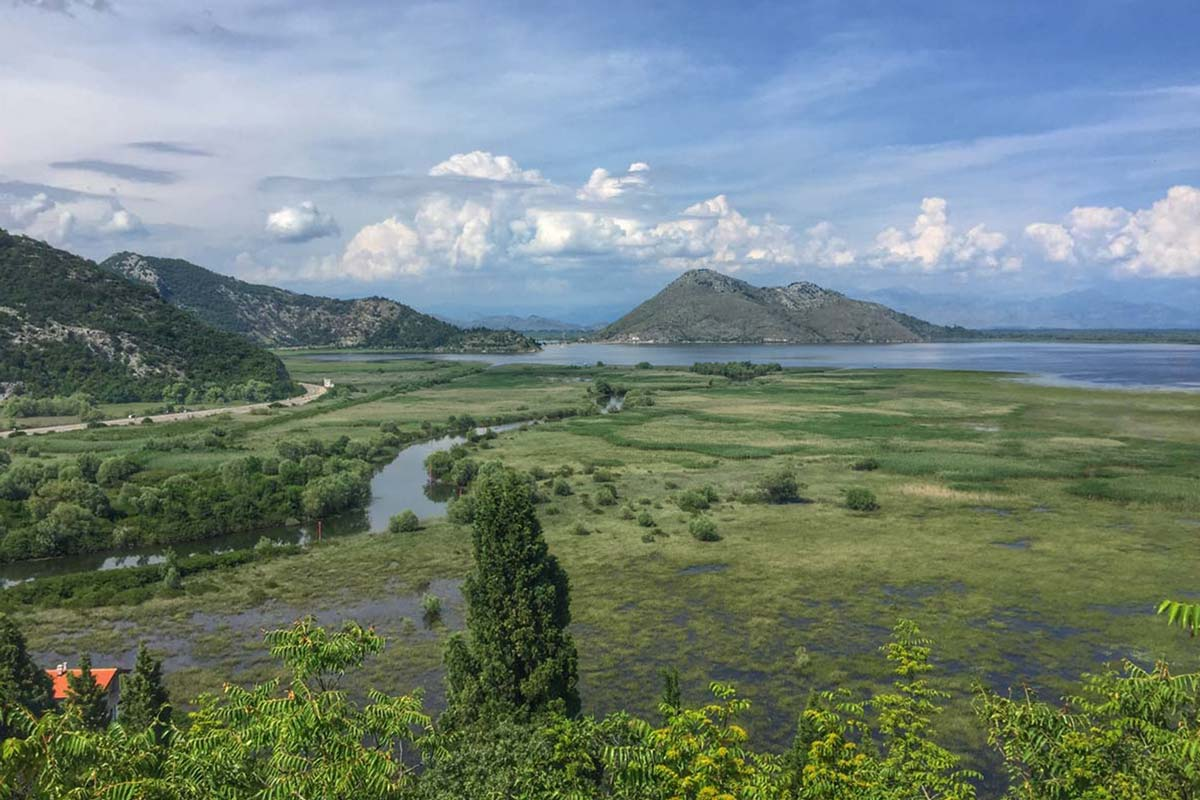 Montenegro Skadar Lake, guided day tour view
